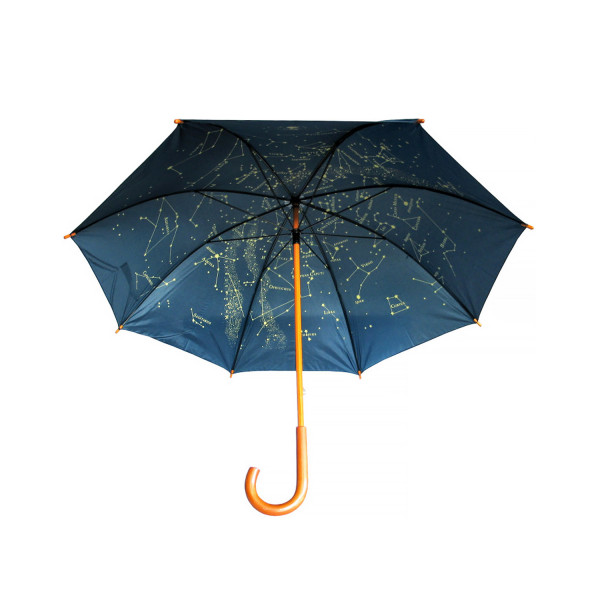 Regenschirm - Sternenkarte