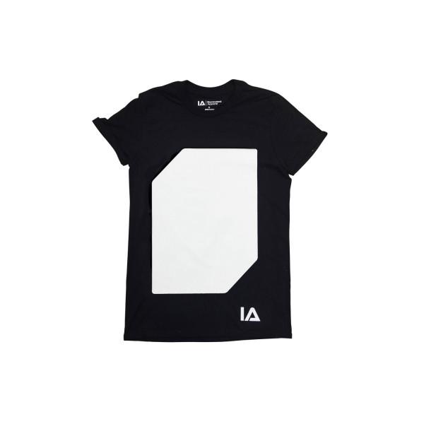Interactive Glow Shirt+Keyring Black, 12-14 Years