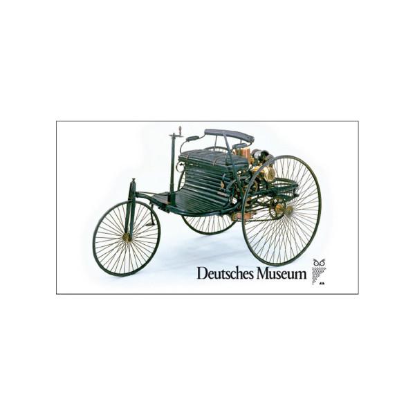 Deutsches Museum Magnetbild - Motorwagen von Benz