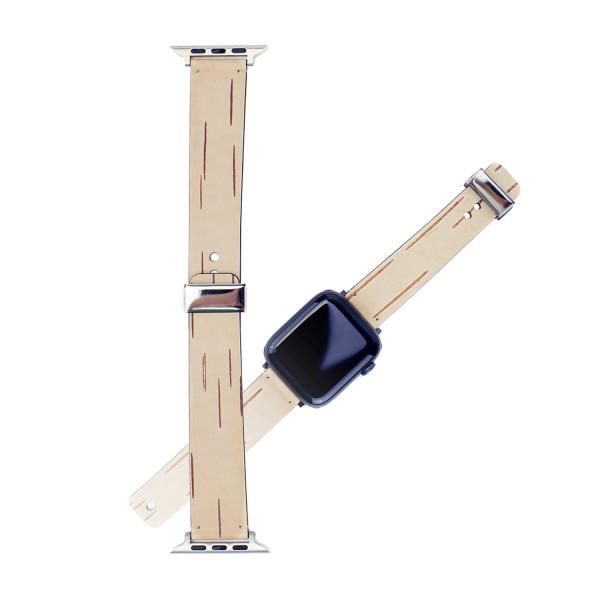 Weisswald-Strap - Apple Uhrenband elegant 42/44 L