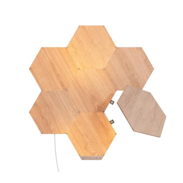 Nanoleaf Elements Wood Look Hexagons Starter Kit