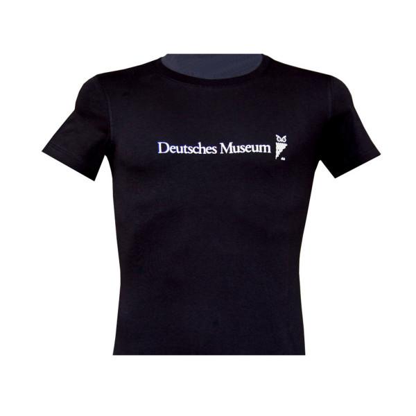 T-Shirt Deutsches Museum, Damen, Schwarz, S