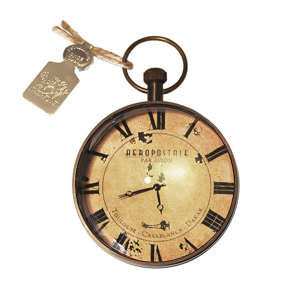 Taschenuhr Eye of Time Library, Bronze