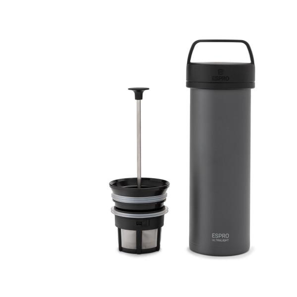 ESPRO Ultralight Coffee Press 475ml Gunmetal