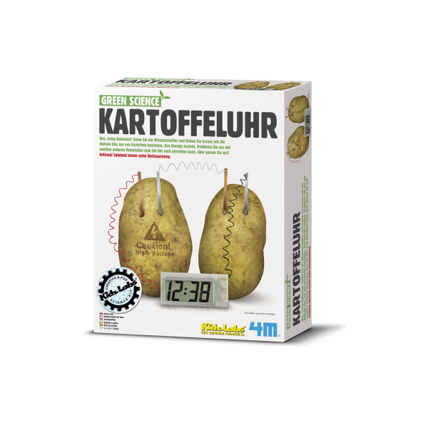Green Science: Kartoffeluhr
