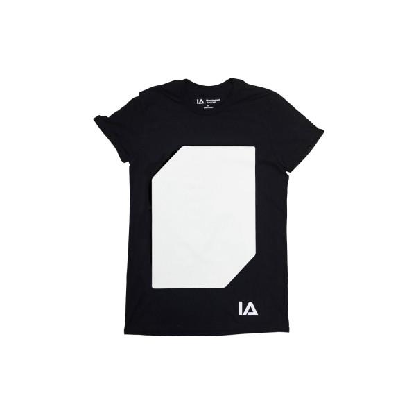 Interactive Glow T-Shirt incl. Keyring Black, M