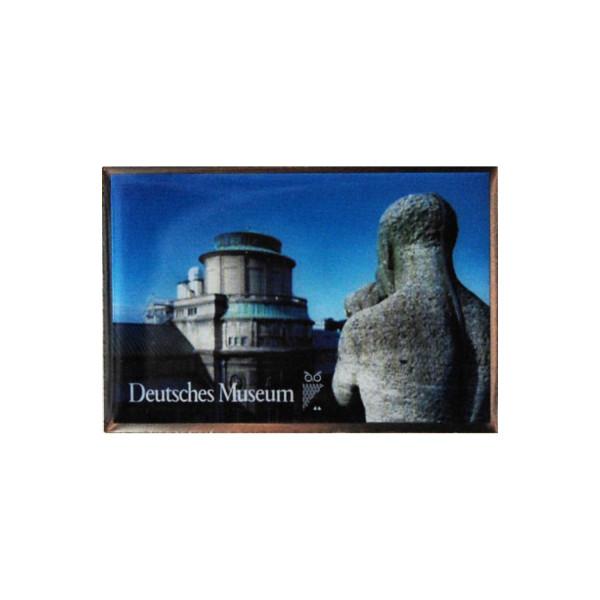 Deutsches Museum Pin Key Visual Uhrturm
