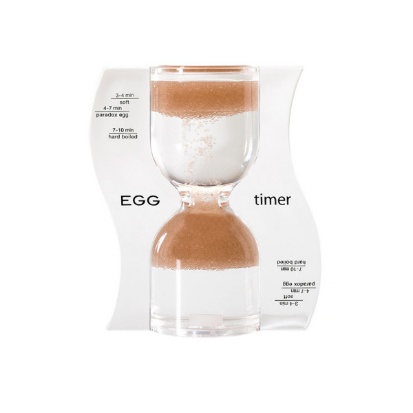 PARADOX EGG TIMER, light brown