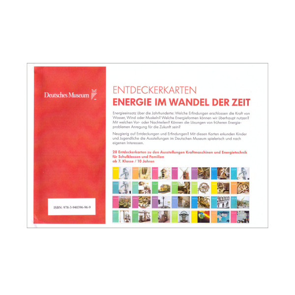 Energie im Wandel der Zeit. Museumspreis vor Ort: 6,95 €