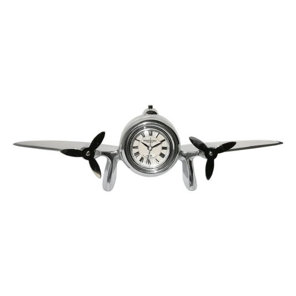 Flugzeug-Uhr Art Deco