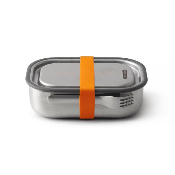 Edelstahl Lunch Box, Orange, 1000 ml