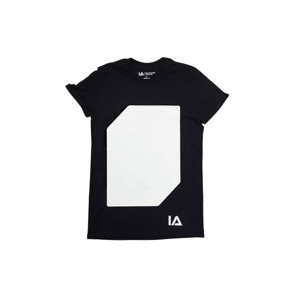 Interactive Glow T-Shirt incl. Keyring Black, L