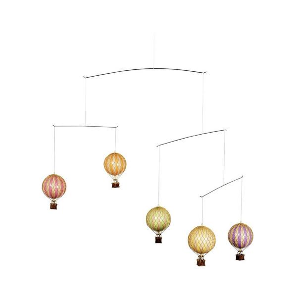 Mobile Ballon Classic Colors