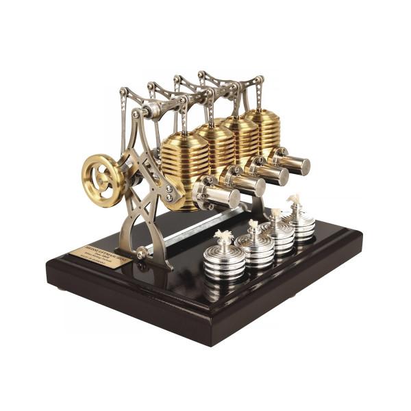 Stirlingmotor Big Bridge dunkel BHB28