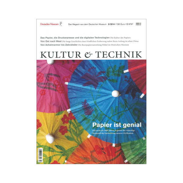 Kultur & Technik 03-2014 Papier ist genial