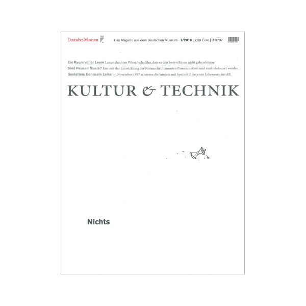 Kultur & Technik 01-2018 Nichts