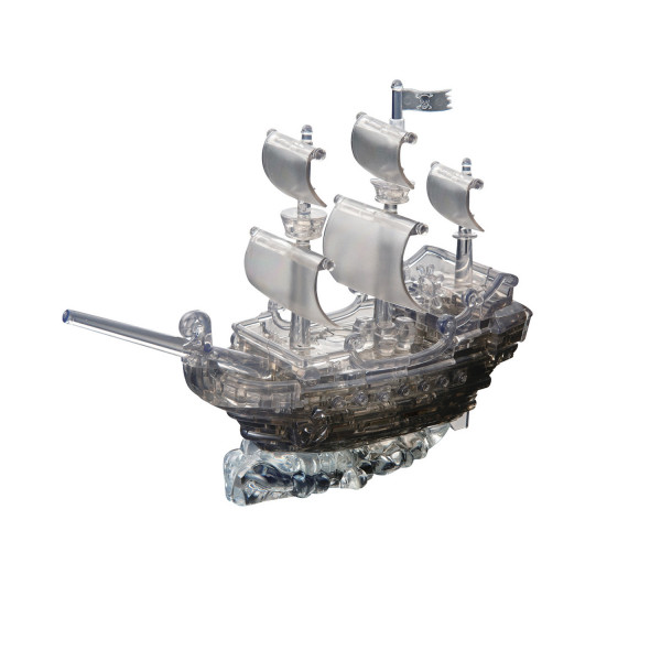 3D Crystal Puzzle Piratenschiff - 101 Teile