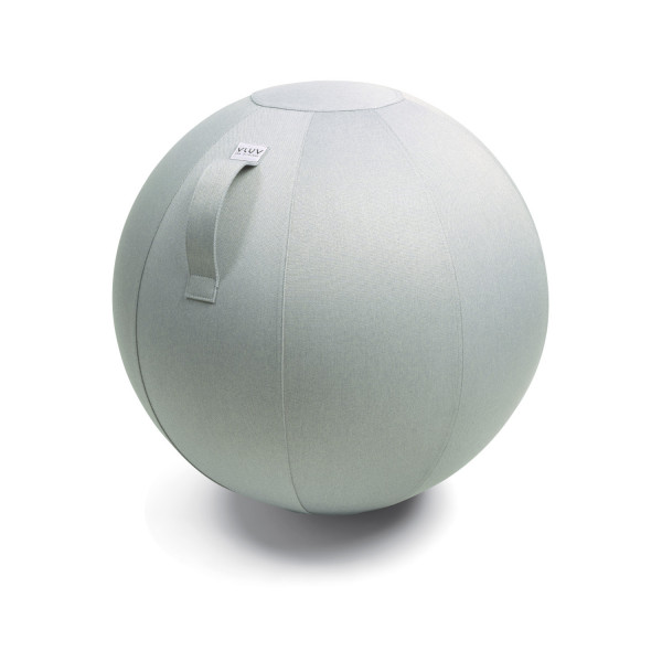VLUV BOL LEIV Stoff-Sitzball - Silver