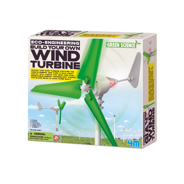 Green Science - Wind Turbine Bastelset